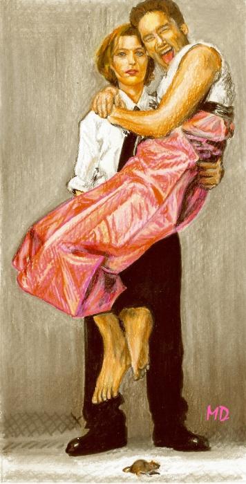 David Duchovny by Mathilde-DRACENA